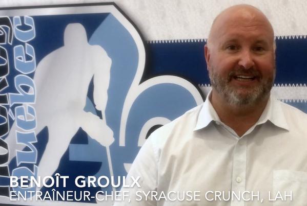 «Le rôle premier d'un entraîneur, c'est de s'assurer que les jeunes ont du plaisir»- André Tourigny