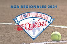Assemblées régionales annuelles de Softball Québec 2021