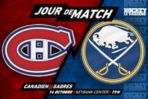 Jour de match   Une première depuis janvier 2006 pour le Canadien et Samuel Montembeault