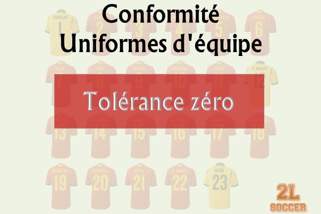 Conformité uniformes