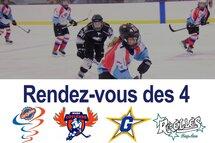 Le Rendez-vous des 4 : un Showcase pour promouvoir le hockey féminin