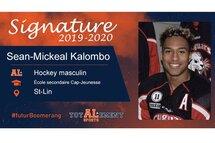 Sean-Mickeal Kalombo - Crédit Photo - Patrick Gagnon