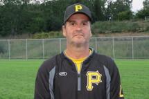 Gilles Larouche, entraîneur-chef des Pirates junior AA