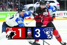 Le Canada trébuche en finale contre la Finlande