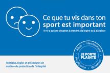 PROTECTION DE L'INTÉGRITÉ EN CONTEXTE SPORTIF