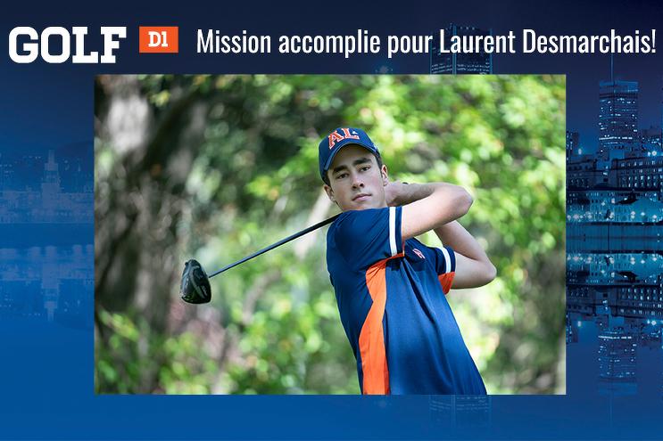 Mission accomplie pour Laurent Desmarchais!