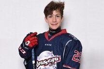 Loic Goyette, attaquant Pee-wee AAA des Patriotes de Laval