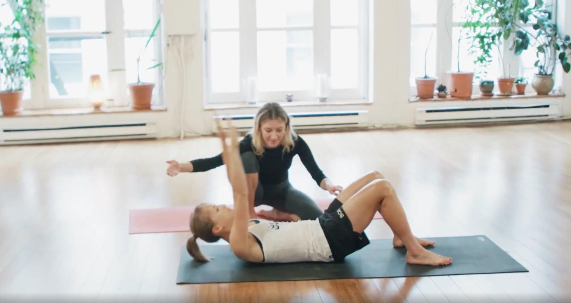Core workout, Boa system, essentrics, core exercises, fitness, lex albrecht, women's health