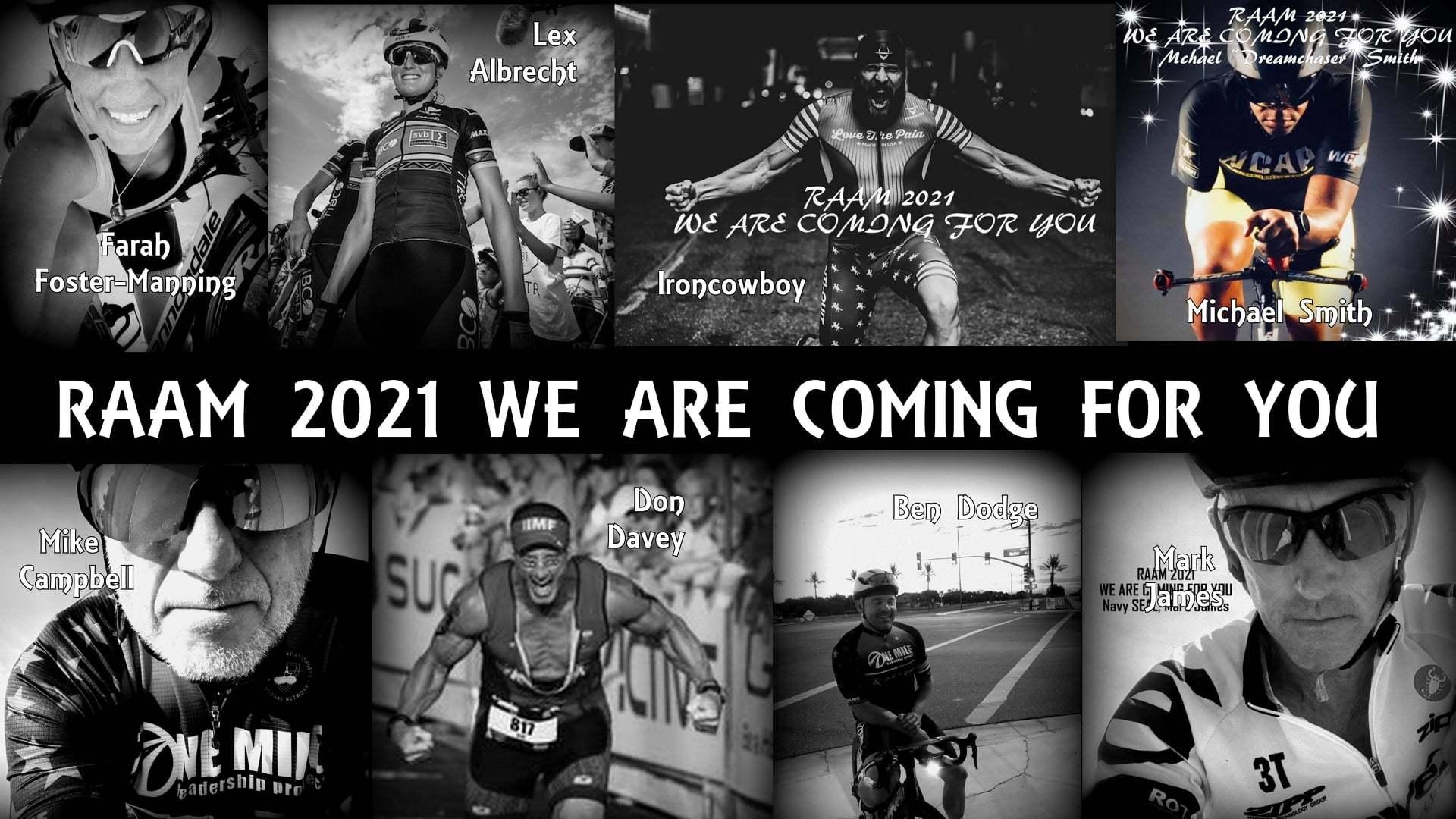 Race Across America 2021, RAAM 8 man team, Team One Mile, Lex Albrecht RAAM
