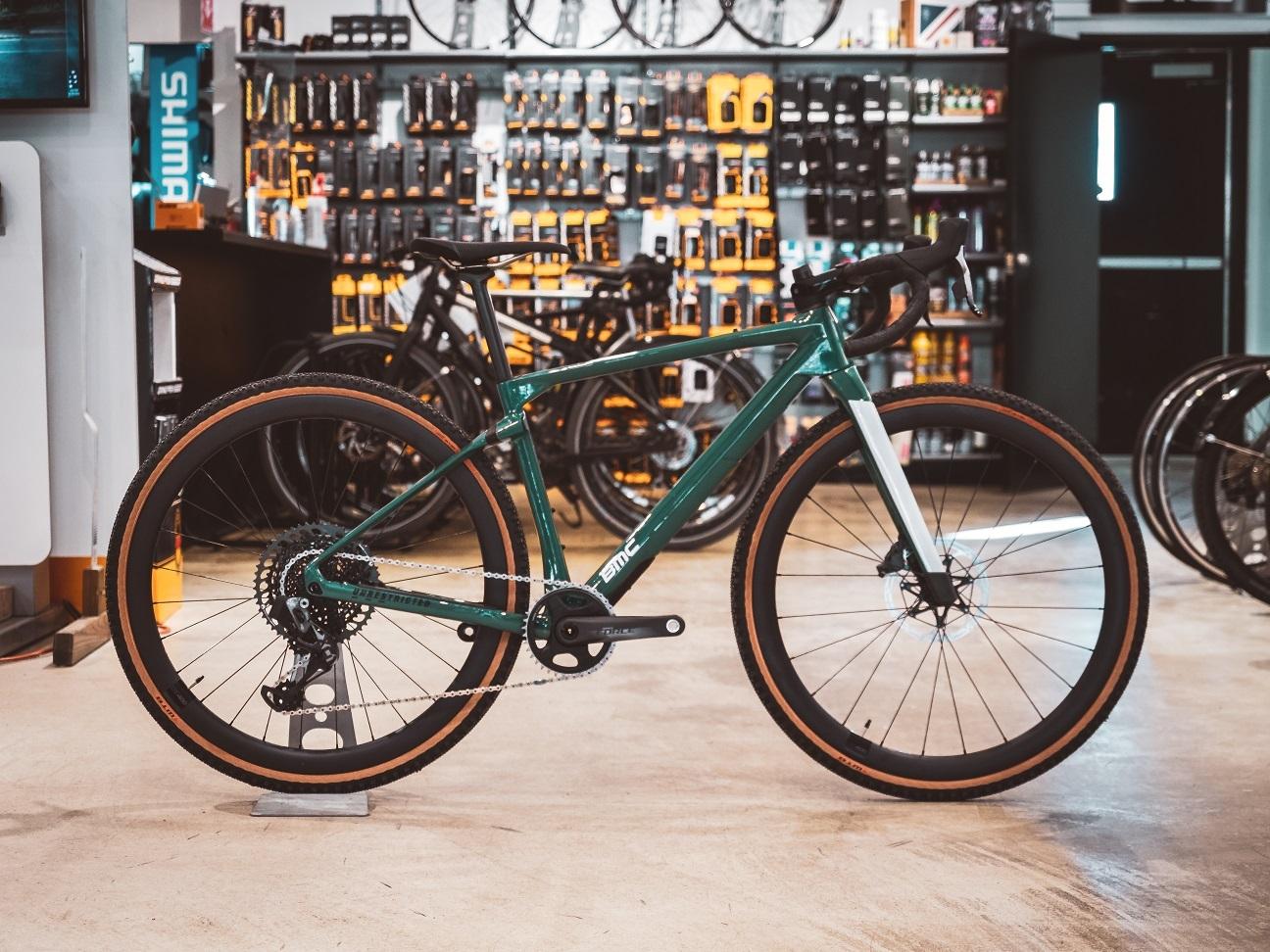 2021 BMC URS 01 Two Gravel bike and professional cyclist Lex Albrecht