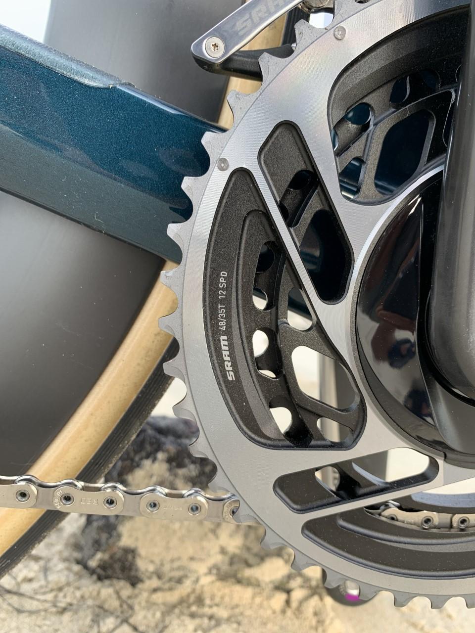 Lex Albrecht Time Machine Road 01 chainring