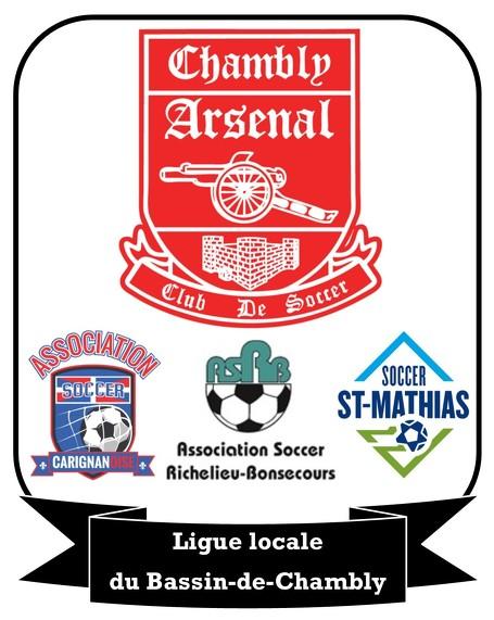 Ligue de soccer r�cr�atif de Chambly-Carignan 2012