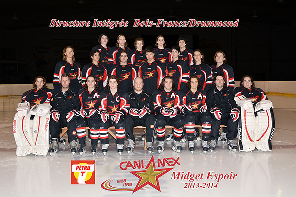 Drummondville midget hockey