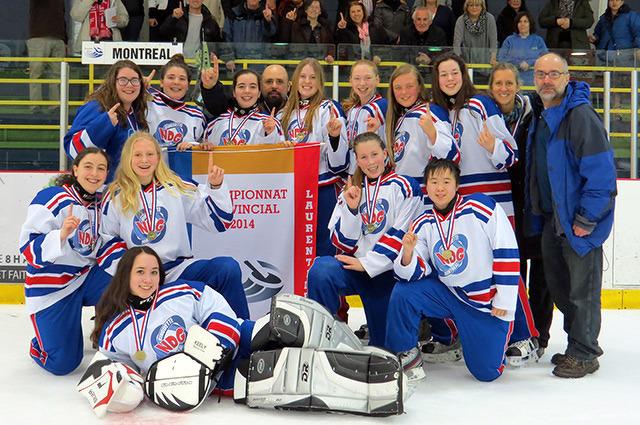 Équipe Junior NDG 2014