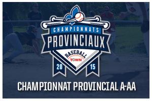 Championnats provinciaux AA Logo