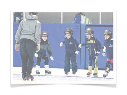 Groupe de patinage