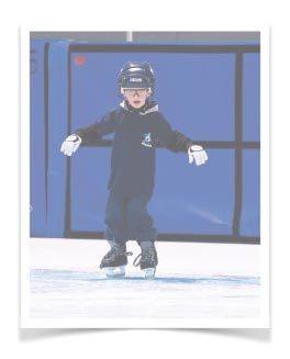 Jeune patineur