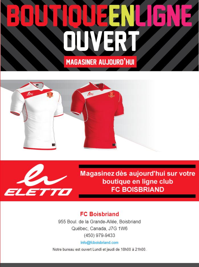 Boutique FC Boisbriand