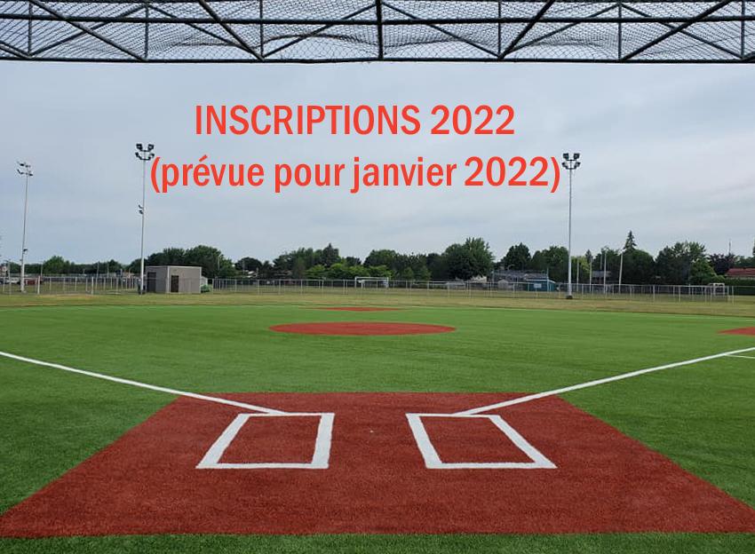 Inscriptions 2022