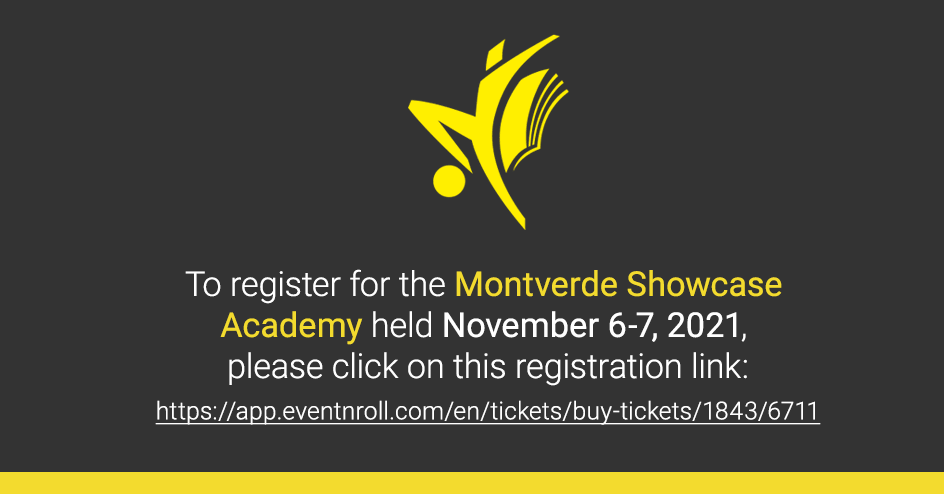 Lien d'inscription pour s'inscrire à l'académie Montverde ShowCase
