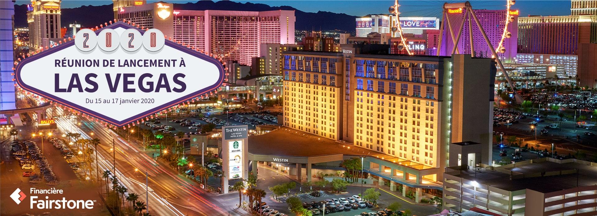 Vue sur la ville de Las Vegas