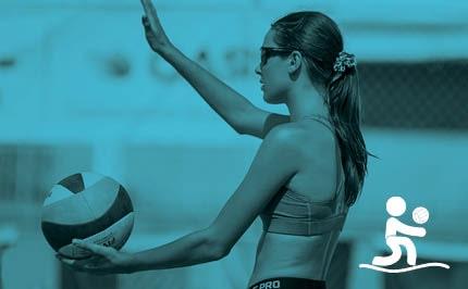 Volleyball de plage féminin