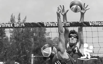 Volleyball de plage masculin