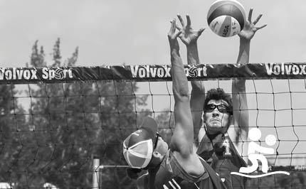 Volleyball de plage masculin