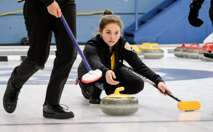 Curling féminin