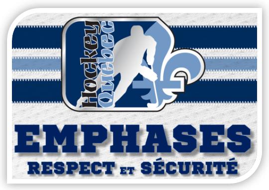 Hockey Quebec nnet l'accent sur le respect et la sécurité des joueurs