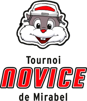 Logo tournoi novice de mirabel