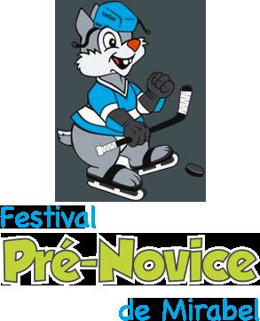 Logo festival pré-novice de mirabel