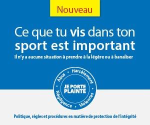 Ce que tu vis dans ton sport est important