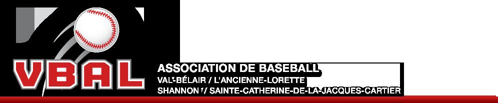 VBAL - Association de Baseball Val-Bélair / L'Ancienne-Lorette / Shannon / Sainte-Catherine-de-la-Jacques-Cartier