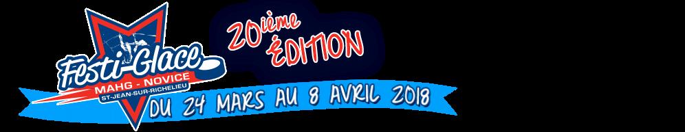 Tournoi Festi-Glace MAGH-NOVICE de St-Jean-sur-Richelieu