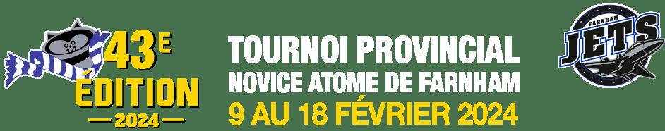 Tournoi Provincial Novice-Atome de Farnham