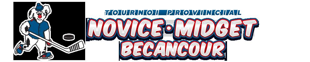 Tournoi Novice-Midget Bécancour