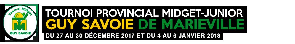 Tournoi Provincial Midget - Junior Guy Savoie de Marieville