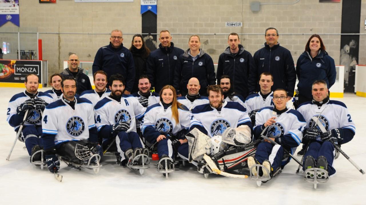 Parahockey dons et concours